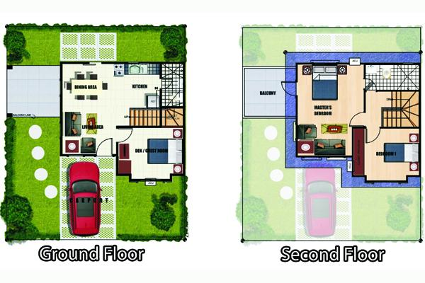 Gabrielle House And Lot For Sale In Lancaster Estates Cavite Philippines